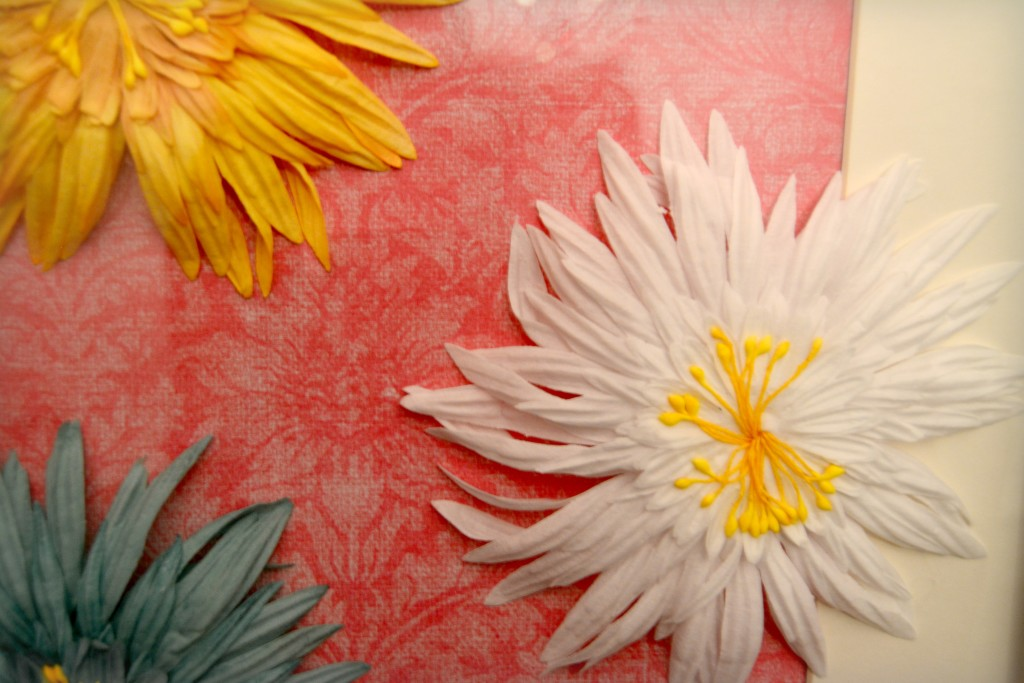 easy art decor paper flowers
